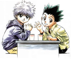 anime, killua, and killugon image