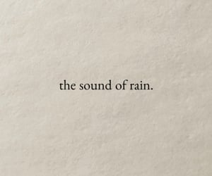 page, quotes, and rain image
