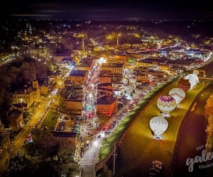 aerial photography, Halloween, and aerial view image