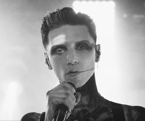 bvb, andy black, and black veil brides image