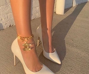 channel, fashion, and heels image