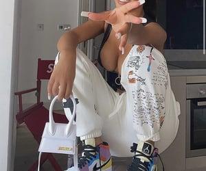 fashion, shoes, and sweats image