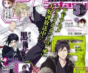 anime, manga, and durarara image