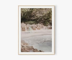 beach, mediterranean, and beach photography image