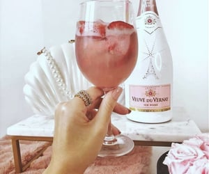 champagne, chic, and lifestyle image