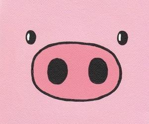 pig, pink, and piggy image