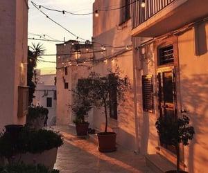 travel, sunset, and light image