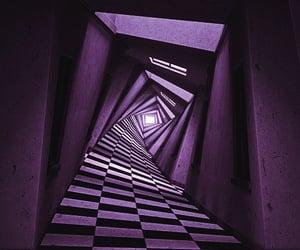 distortion, location, and purple image