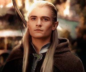 Legolas, orlando bloom, and elf image