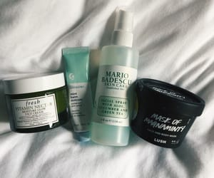 mario badescu, lush, and skin care image