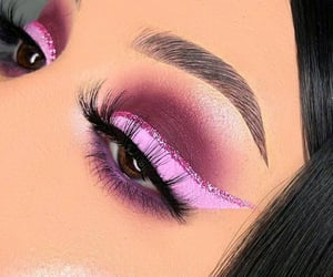 beauty, beleza, and eye makeup image