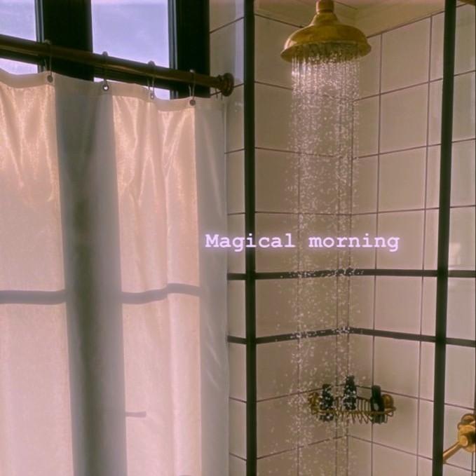 bathroom, calm, and shower image