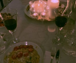date, drink, and spaghetti image