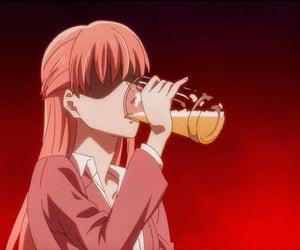 anime, 笑, and 女性 image