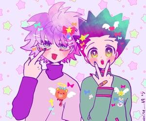 anime, killua, and gon freecss image
