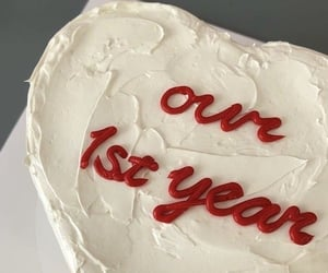 cake, aesthetic, and red image