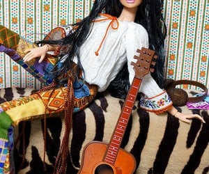 barbie, hippie chic, and bohemia image