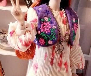 boho, dolls, and hippie chic image