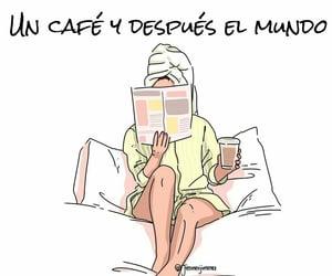 cafe, mundo, and buenos días image