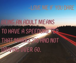 Adult, courage, and love me if you dare image