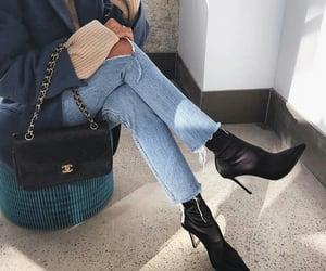 chanel, fashiob, and chanel bag image
