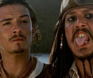captain jack sparrow, movies, and pirates of the caribbean image