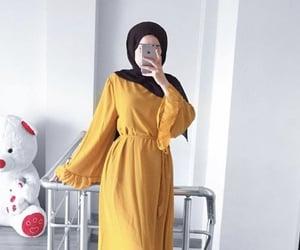 design, muslim, and yellow image