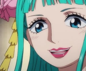 anime girl, one piece, and roronoa zoro image