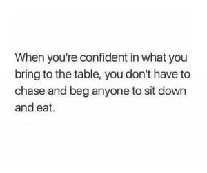 confident, life, and text image