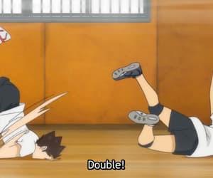 anime, karasuno, and tanaka image
