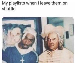 memes, haha, and music image