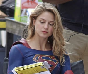 celebrity, Supergirl, and melissa benoist image