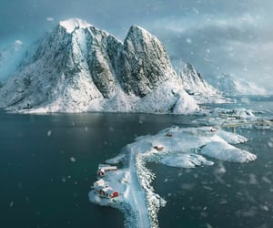 belleza, naturaleza, and nieve image