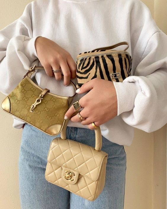 aesthetic, bag, and chanel image