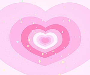 gif, pink, and heart image