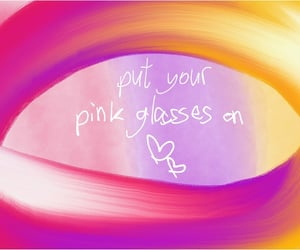 glasses, heal, and pink image