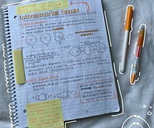 journaling, orange, and school image