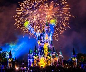 castle, cinderella, and friendship image