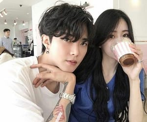 couple, korean, and boy image