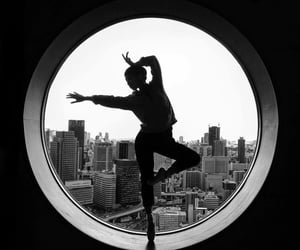 dance, ballet, and black image