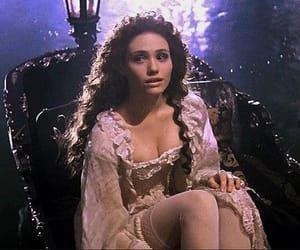 emmy rossum, christine daae, and Phantom of the Opera image