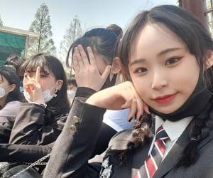 aesthetic, girl, and korean girl image
