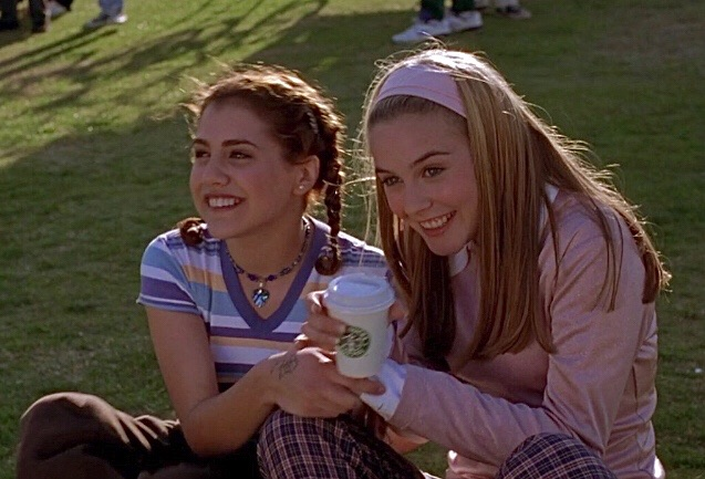 Clueless, brittany murphy, and 90s image