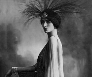 1910s, black & white, and woman image