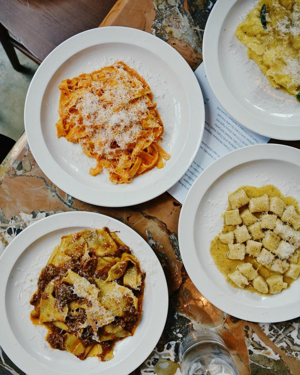 pasta, italian food, and pappardelle image