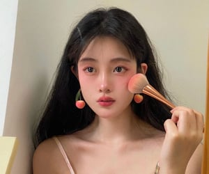 asian, chinese, and makeup image