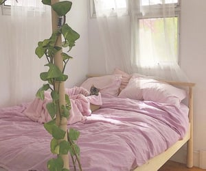 bedroom, dorm, and decor image