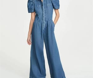 fashion blogger, jumpsuit, and streetstyle image