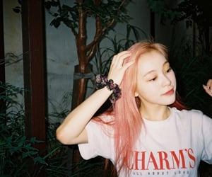 film, pink hair, and dreamcatcher image