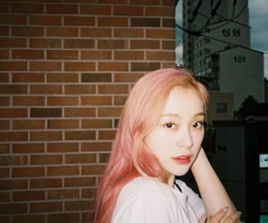 dreamcatcher and pink hair image
